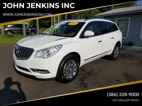 2017 Buick Enclave for sale at JOHN JENKINS INC in Palatka FL
