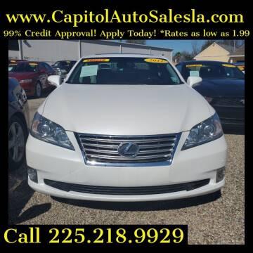 2011 Lexus ES 350 for sale at CAPITOL AUTO SALES LLC in Baton Rouge LA
