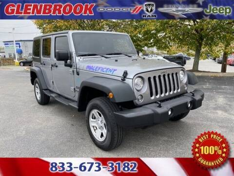 2018 Jeep Wrangler JK Unlimited for sale at Glenbrook Dodge Chrysler Jeep Ram and Fiat in Fort Wayne IN