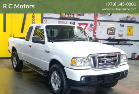 2006 Ford Ranger for sale at R C Motors in Lunenburg MA