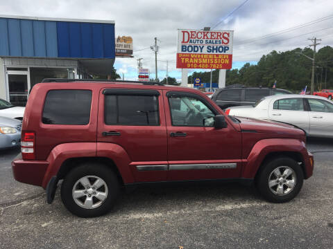 2011 Jeep Liberty for sale at Deckers Auto Sales Inc in Fayetteville NC