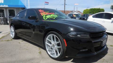 2016 Dodge Charger for sale at Luxor Motors Inc in Pacoima CA