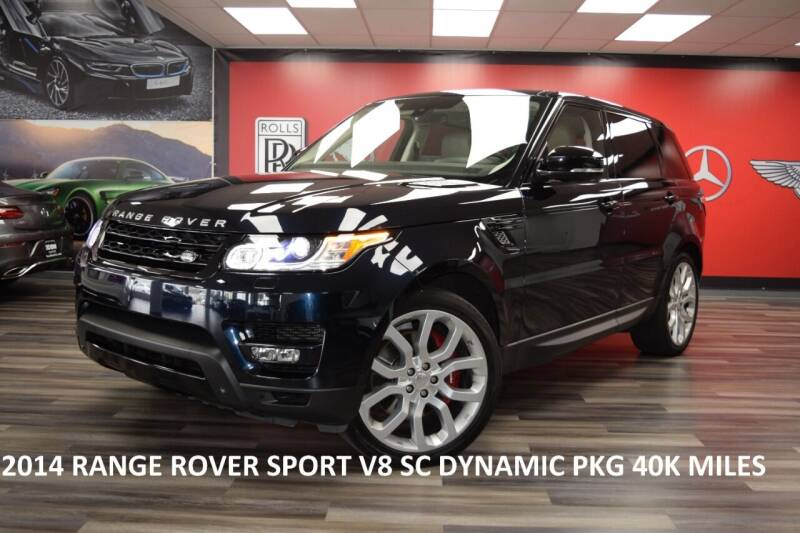 2014 Land Rover Range Rover Sport for sale at Icon Exotics in Houston TX
