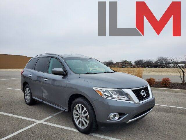2016 Nissan Pathfinder for sale at INDY LUXURY MOTORSPORTS in Fishers IN