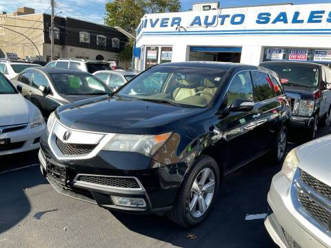 2012 Acura MDX for sale at White River Auto Sales in New Rochelle NY