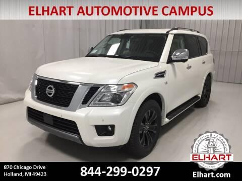 2019 Nissan Armada for sale at Elhart Automotive Campus in Holland MI