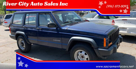 2000 Jeep Cherokee for sale at River City Auto Sales Inc in West Sacramento CA