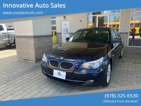 2010 BMW 5 Series for sale at Innovative Auto Sales in North Hampton NH