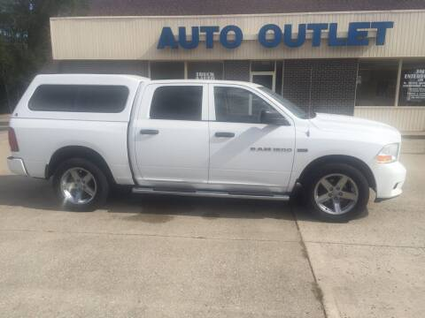 2012 RAM Ram Pickup 1500 for sale at Truck and Auto Outlet in Excelsior Springs MO