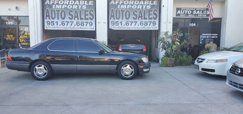 1999 Lexus LS 400 for sale at Affordable Imports Auto Sales in Murrieta CA