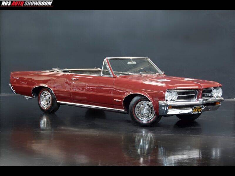 1964 Pontiac GTO for sale at NBS Auto Showroom in Milpitas CA