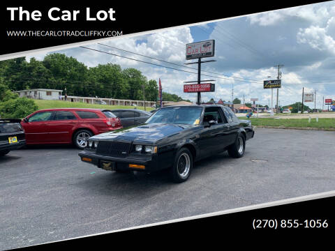 1987 Buick Regal for sale at The Car Lot in Radcliff KY