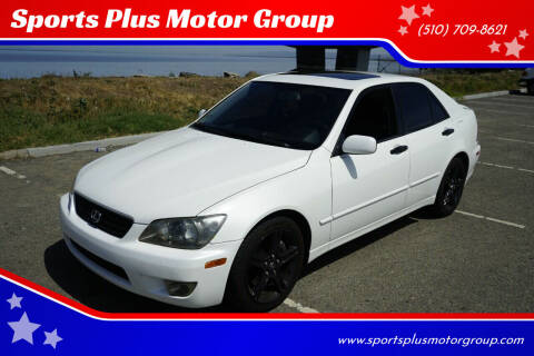 2005 Lexus IS 300 for sale at Sports Plus Motor Group LLC in Sunnyvale CA