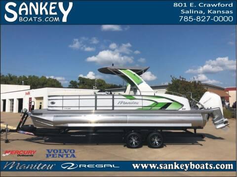 2021 Manitou 25 Xplode SRS SHP for sale at SankeyBoats.com in Salina KS