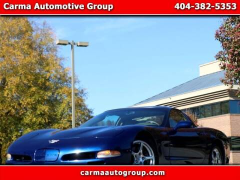 2004 Chevrolet Corvette for sale at Carma Auto Group in Duluth GA