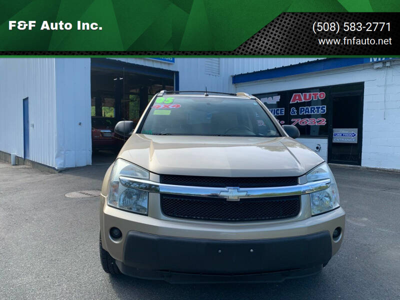 2005 Chevrolet Equinox for sale at F&F Auto Inc. in West Bridgewater MA