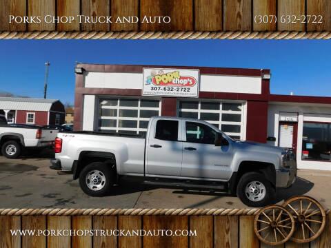 2015 Chevrolet Silverado 2500HD for sale at Porks Chop Truck and Auto in Cheyenne WY