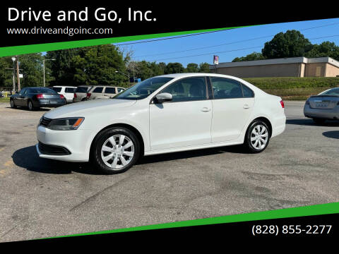 2014 Volkswagen Jetta for sale at Drive and Go, Inc. in Hickory NC