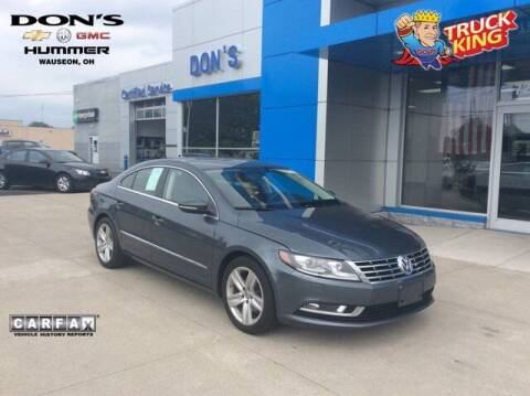 2015 Volkswagen CC for sale at DON'S CHEVY, BUICK-GMC & CADILLAC in Wauseon OH