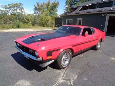 1972 Ford Mustang for sale at SCHURMAN MOTOR COMPANY in Lancaster NH