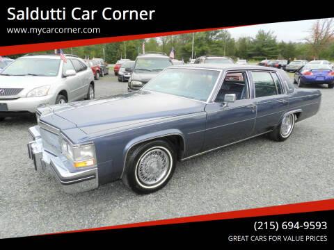 1984 Cadillac DeVille for sale at Saldutti Car Corner in Gilbertsville PA