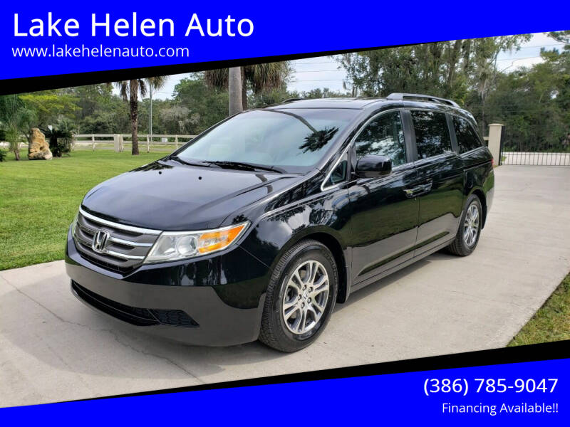 2012 Honda Odyssey for sale at Lake Helen Auto in Lake Helen FL