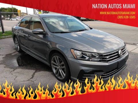 2017 Volkswagen Passat for sale at Nation Autos Miami in Hialeah FL