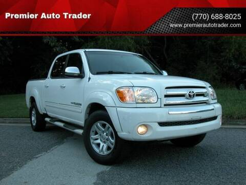 2006 Toyota Tundra for sale at Premier Auto Trader in Alpharetta GA