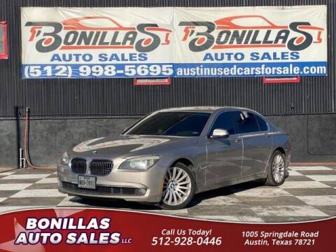 2010 BMW 7 Series for sale at Bonillas Auto Sales in Austin TX