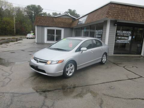 2006 Honda Civic for sale at Millbrook Auto Sales in Duxbury MA