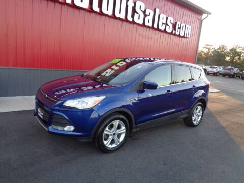 2015 Ford Escape for sale at Stout Sales in Fairborn OH