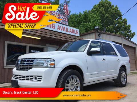 2011 Lincoln Navigator for sale at Oscar's Truck Center, LLC in Houston TX