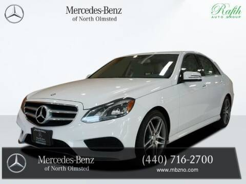 2015 Mercedes-Benz E-Class for sale at Mercedes-Benz of North Olmsted in North Olmstead OH