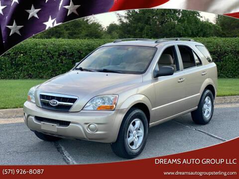 2009 Kia Sorento for sale at Dreams Auto Group LLC in Sterling VA