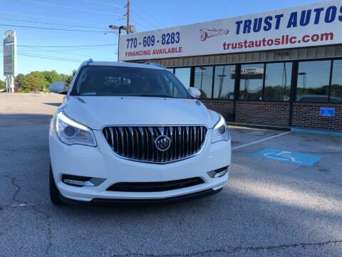 2015 Buick Enclave for sale at Trust Autos, LLC in Decatur GA