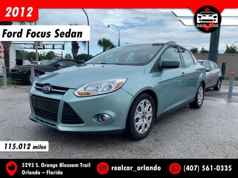 2012 Ford Focus for sale at Real Car Sales in Orlando FL