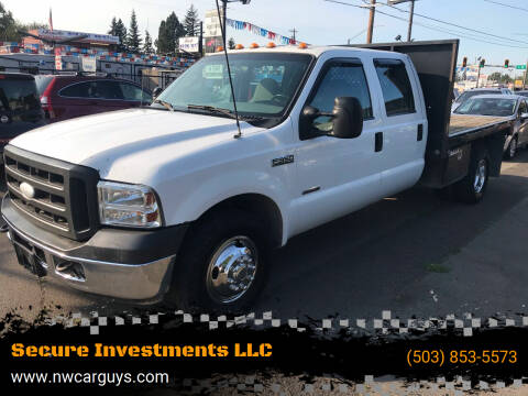 2005 Ford F-350 Super Duty for sale at Stag Motors in Portland OR