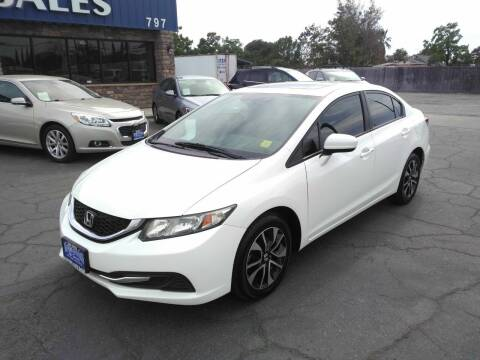 2014 Honda Civic for sale at Hanford Auto Sales in Hanford CA