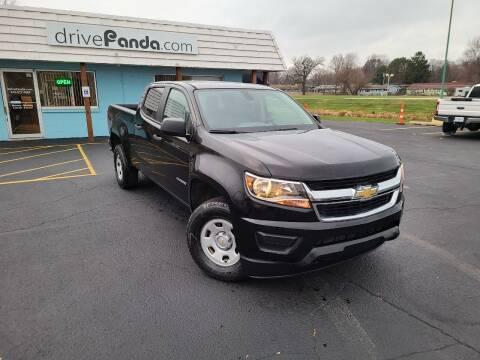 2018 Chevrolet Colorado for sale at DrivePanda.com in Dekalb IL