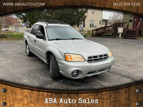 2006 Subaru Baja for sale at ABA Auto Sales in Bloomington IN