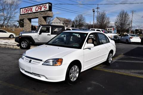 2001 Honda Civic for sale at I-DEAL CARS in Camp Hill PA