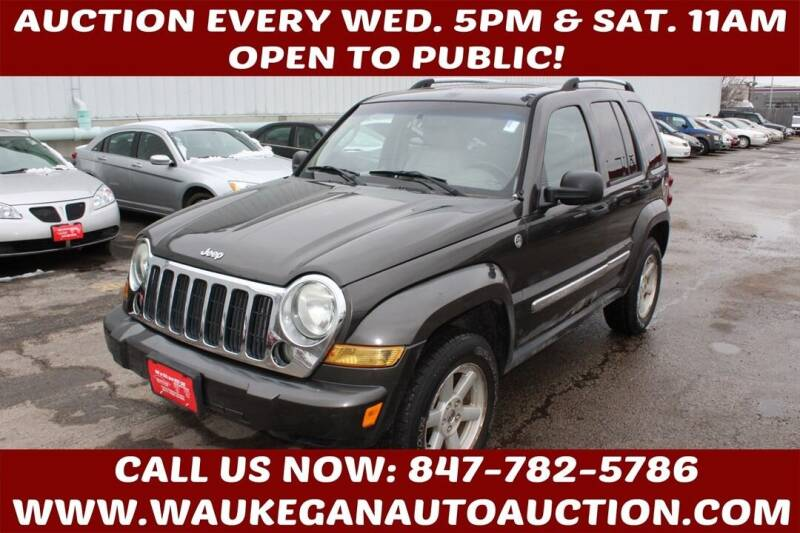 2005 Jeep Liberty for sale at Waukegan Auto Auction in Waukegan IL