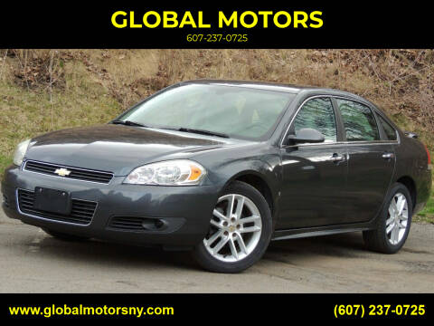 2010 Chevrolet Impala for sale at GLOBAL MOTORS in Binghamton NY