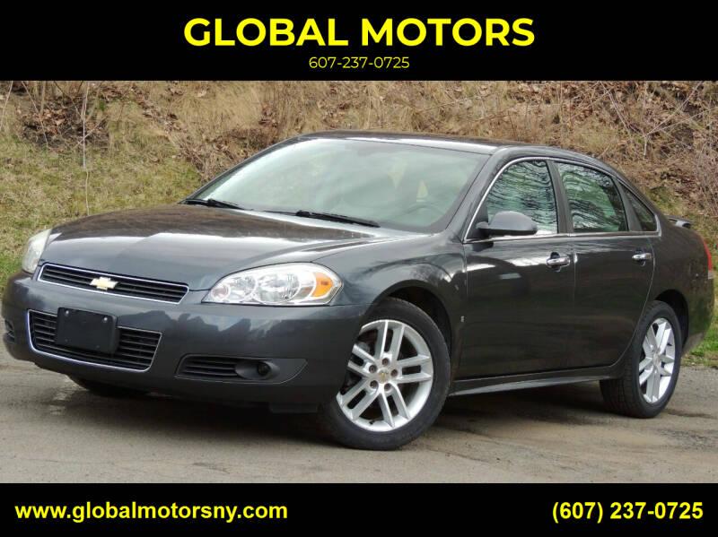 2010 Chevrolet Impala for sale at GLOBAL MOTORS in Binghamton NY