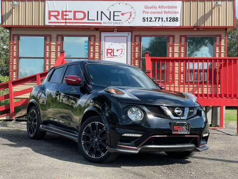 2017 Nissan JUKE for sale at REDLINE AUTO SALES LLC in Cedar Creek TX