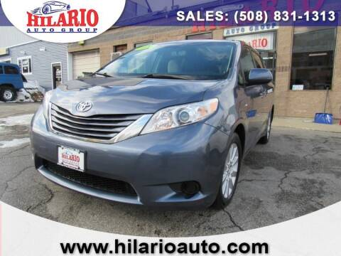 2016 Toyota Sienna for sale at Hilario's Auto Sales in Worcester MA