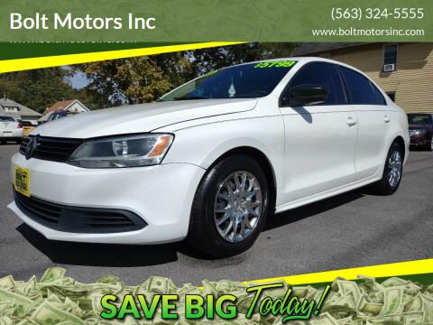2011 Volkswagen Jetta for sale at Bolt Motors Inc in Davenport IA