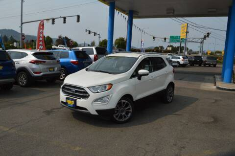 2018 Ford EcoSport for sale at Earnest Auto Sales in Roseburg OR