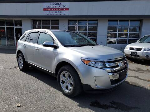 2013 Ford Edge for sale at Landes Family Auto Sales in Attleboro MA