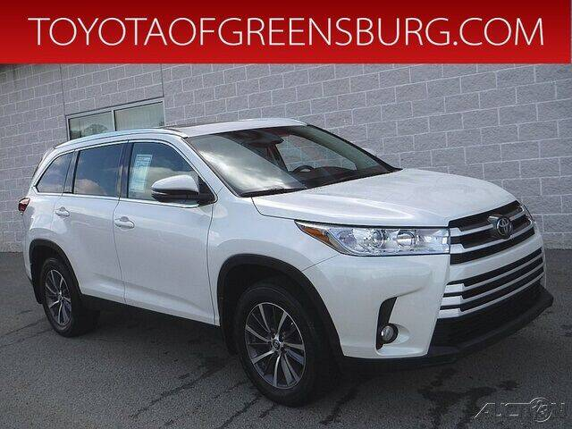 2019 Toyota Highlander for sale in Greensburg, PA